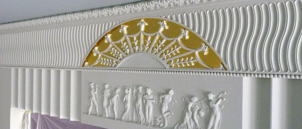 Реставрация лепных декоров